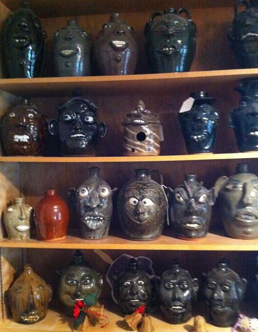 Slave Pottery Jugs