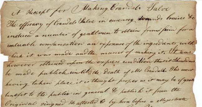 Double, Double Toil and Trouble – A Handwritten Secret Salve ...