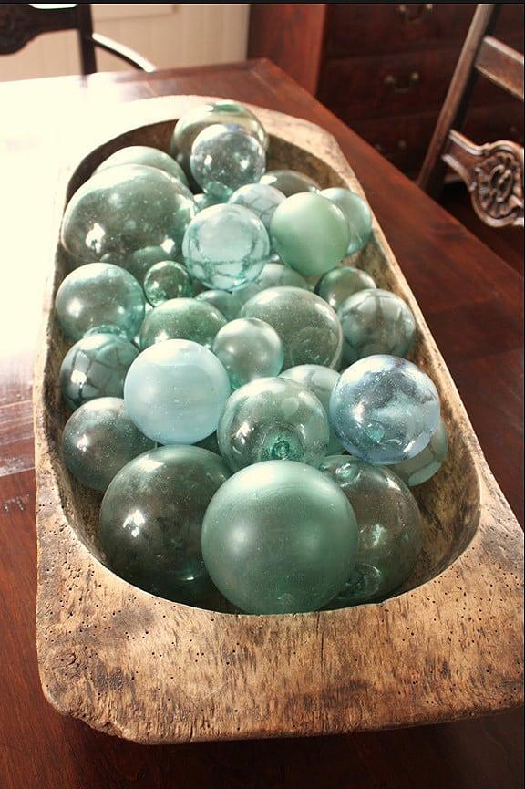 Glass Fishing Net Floats Peachridge Glass