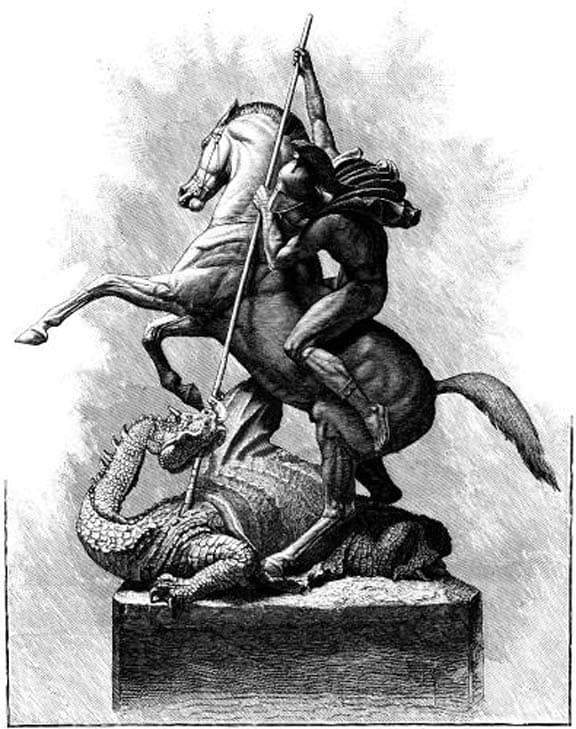St George Dragons: Saint George The Dragon Slayer