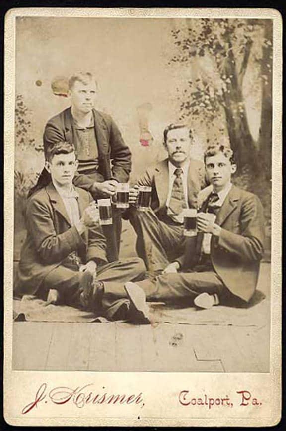 Photographs of People Drinking – Part V | Peachridge Glass