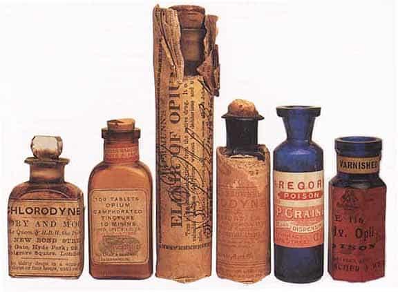 Medicines during the civil war