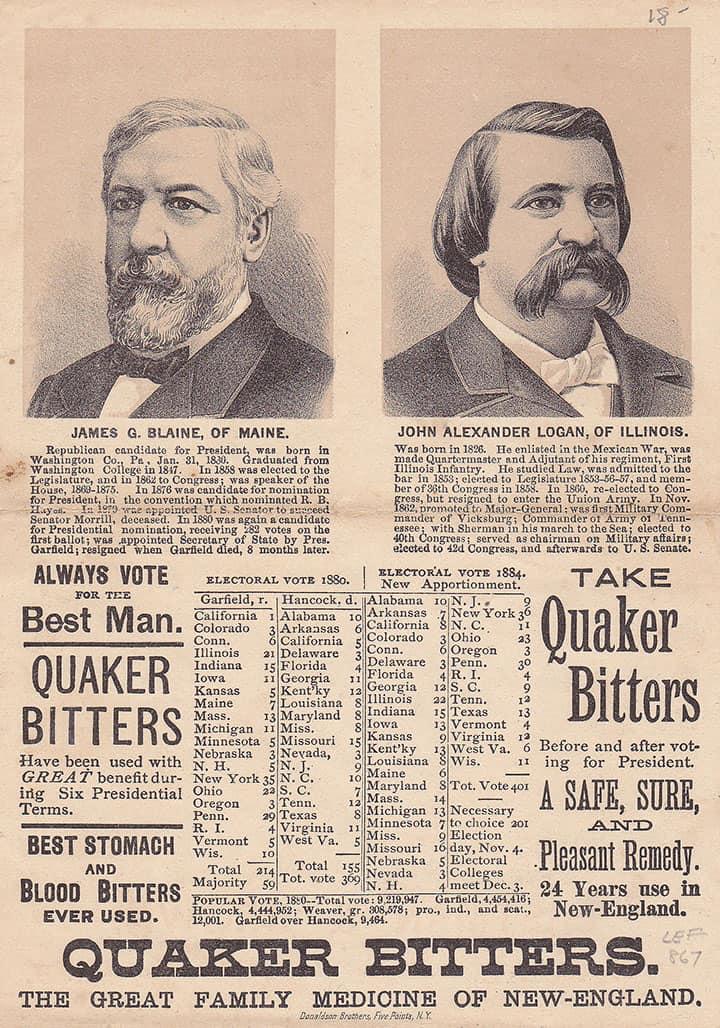 Quaker Bitters back_10