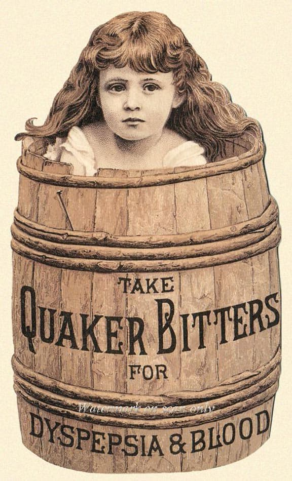 QuakerBittersBarrel