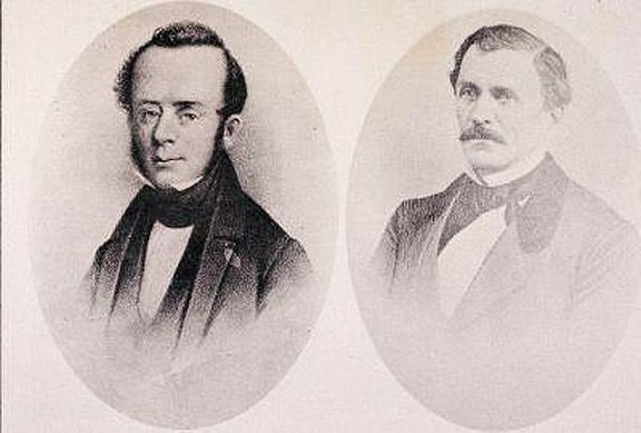John Kirby Allen and Augustus Chapman Allen founded Houston on Aug. 30 1836.