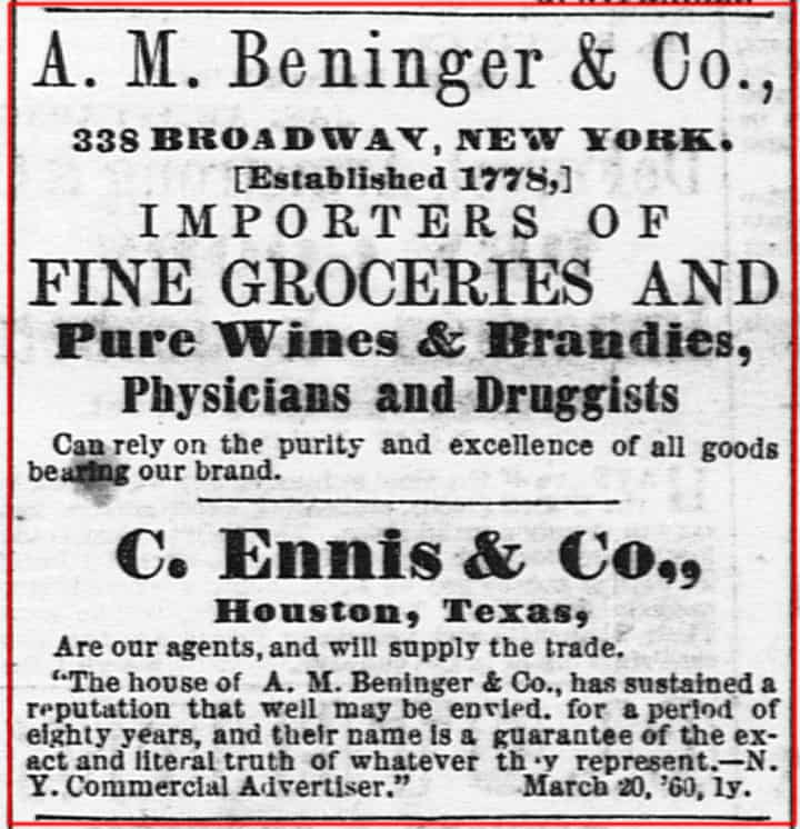 Bininger&Co_Houston1860Ad