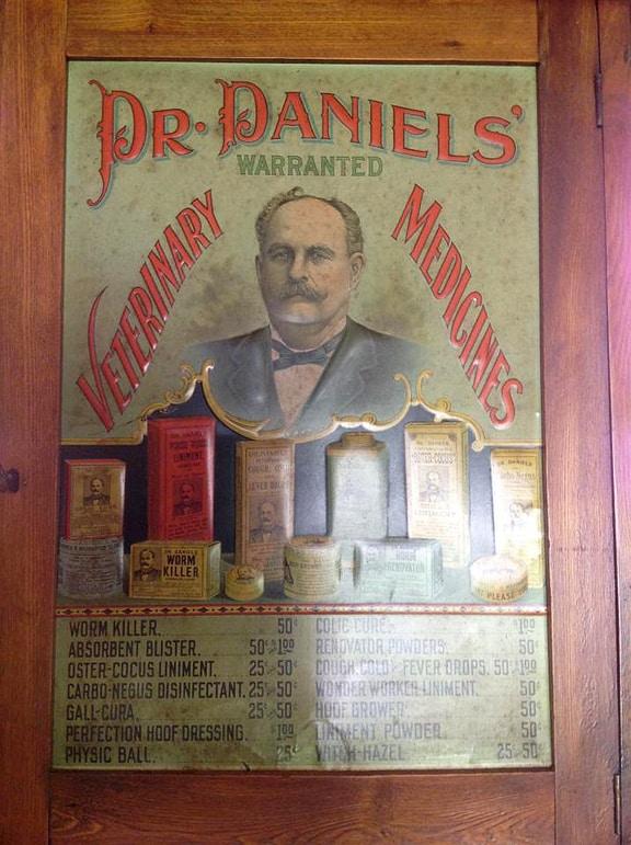 Dr. DanielsCabinet