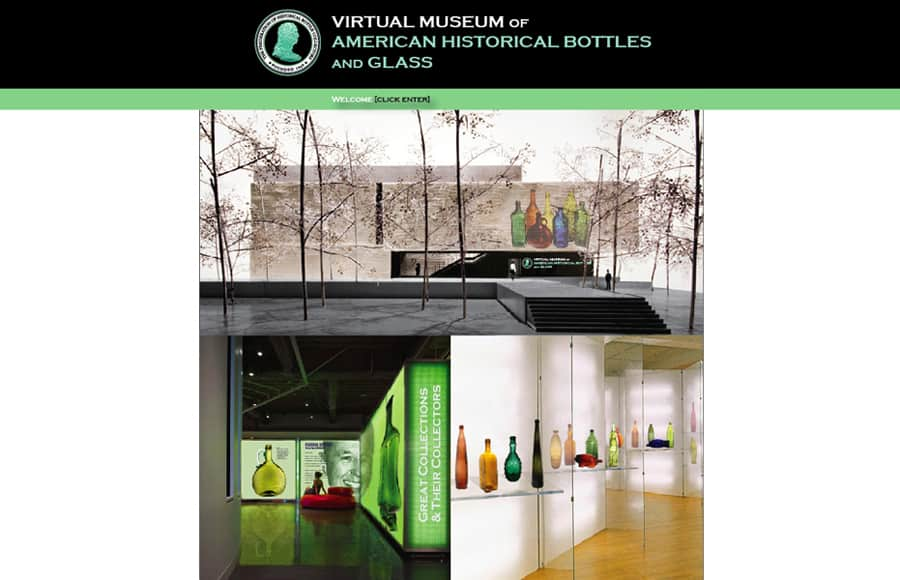 virtual museum welcome page