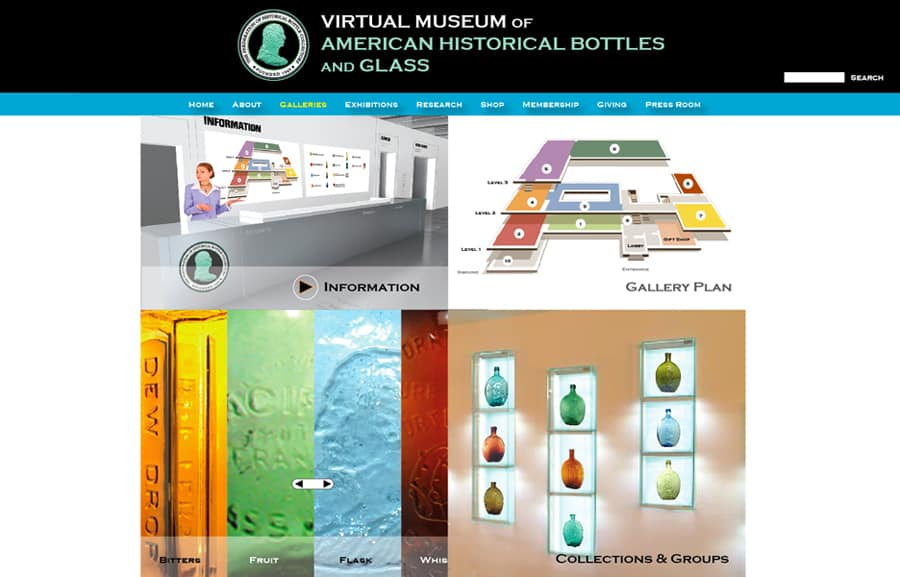 virtual museum gallery welcome