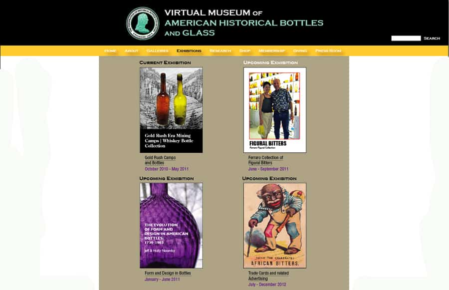 virtual museum exhibitions