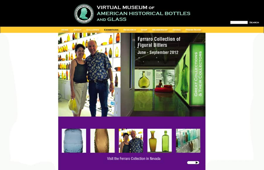 virtual museum exhibition detail