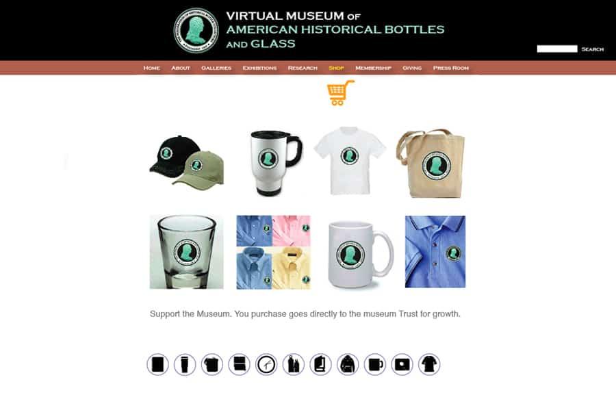 virtual museum retail
