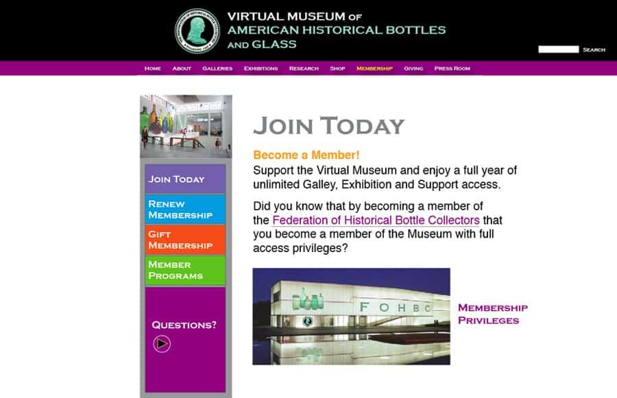 virtual museum membership