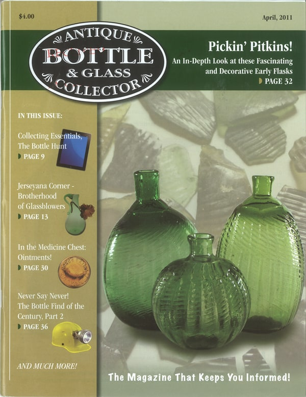 antique bottle & glass collector