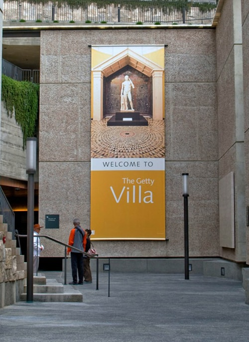 Getty Villa Banner