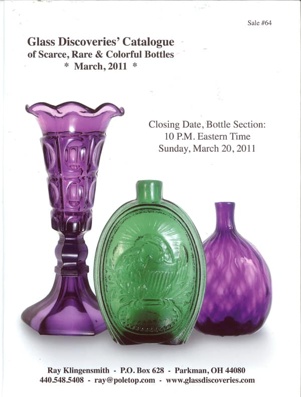 glass discoveries auction catalogue