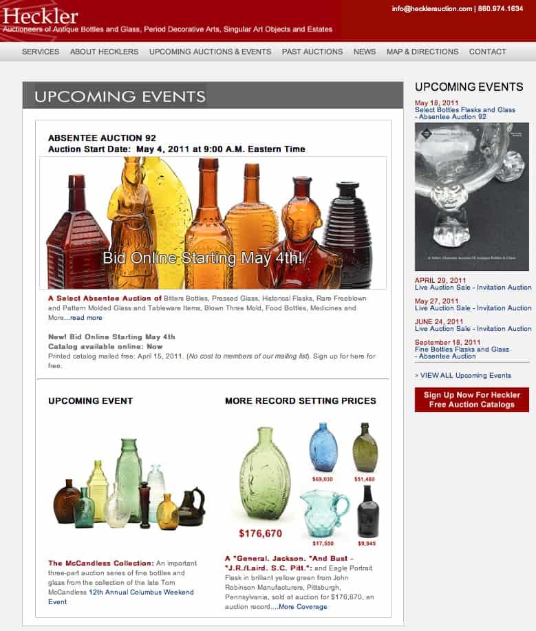 Heckler Web Screenshot