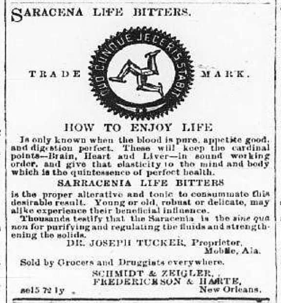 Sarracenia Life Bitters_Ad1