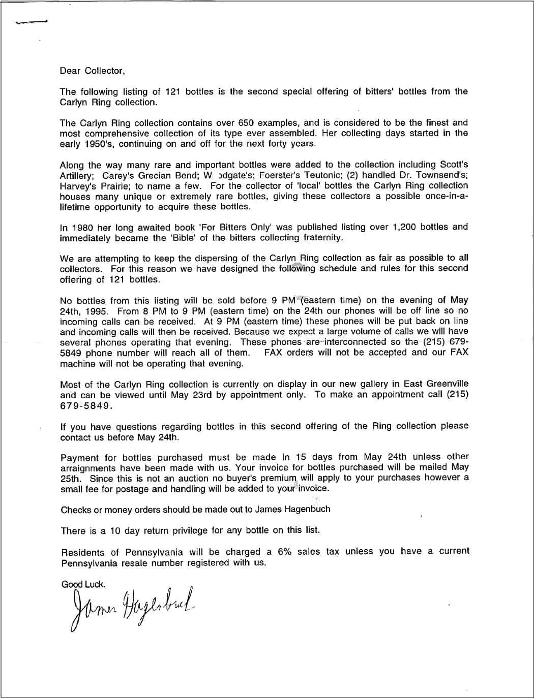 Carolyn Ring - Letter 2