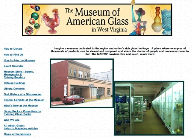 Museum of American Glass - West Virginia