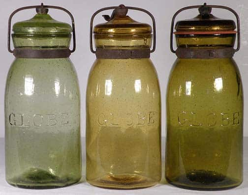 Globe Fruit Jars