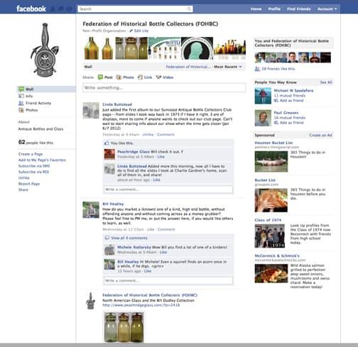 FOHBC Facebook Page