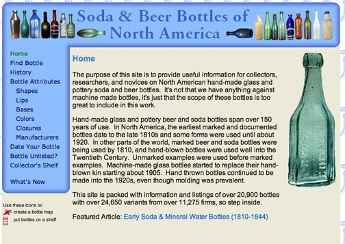 Soda & Beer Bottles of North America