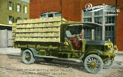Quant Truck Postcard
