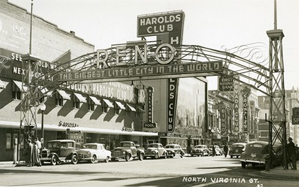 Reno Arch circa 1940