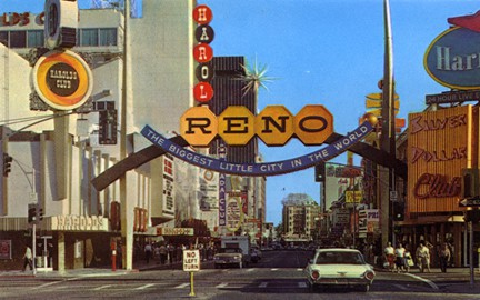 Reno Arch circa 1970