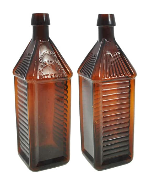 Woodgate's Plantation Bitters - Glass Works Auction #93