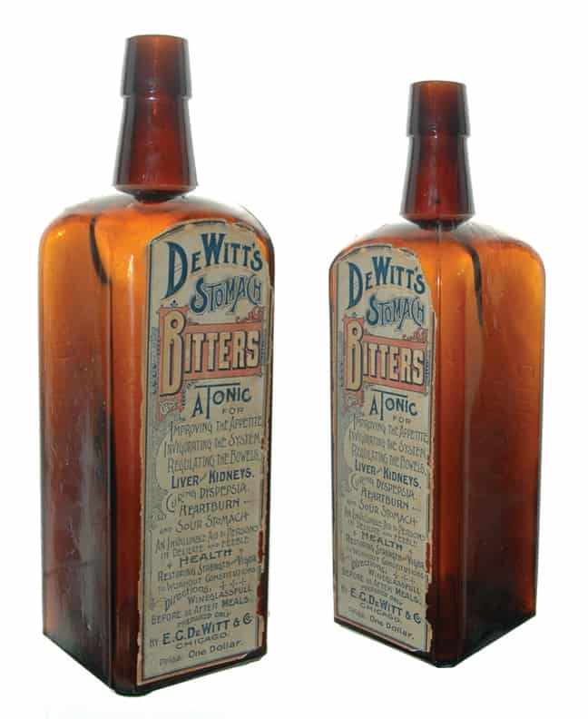 D 64 DE WITTS STOMACH BITTERS - Meyer Collection