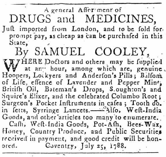 Cooley_Conn Courant_July 1788