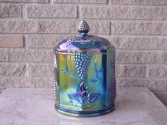 Some Beautiful Carnival Glass Pieces Peachridge Glass