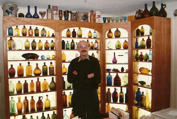 Dr. Burton Spiller & collection - photo Dana Charlton-Zarro
