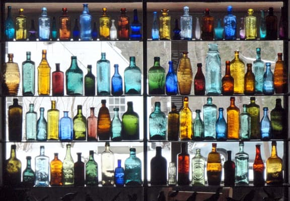 Bottle Window - Charles Flint