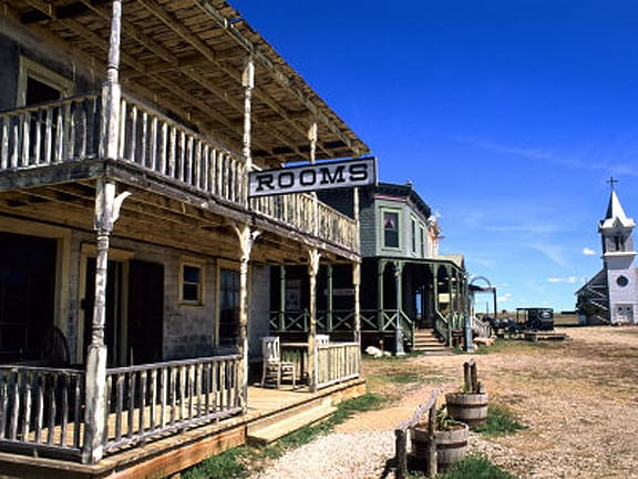 """Ghost Towns – """"a shadowy semblance of a former self"""