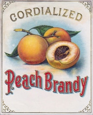 Cordialized Peach Brandy