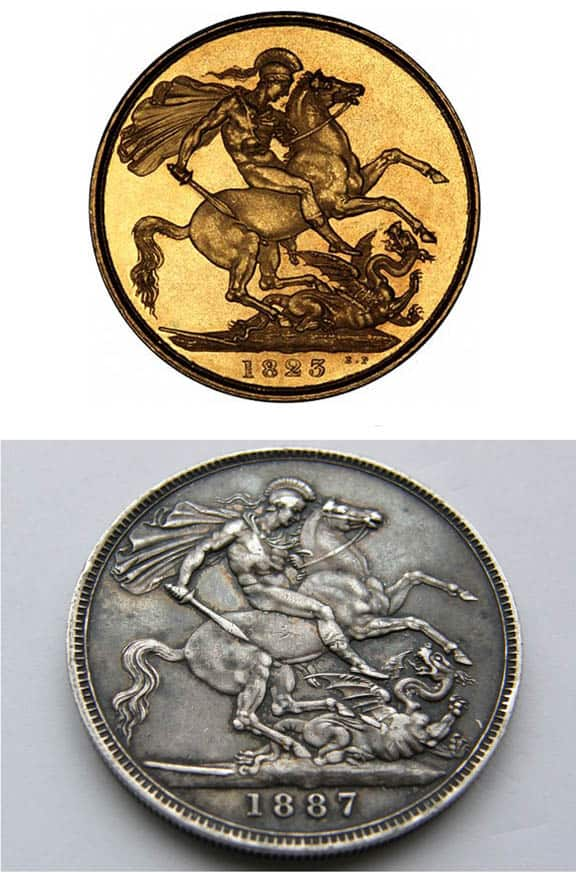 Saint George The Dragon Slayer Not Only On Hostetter S