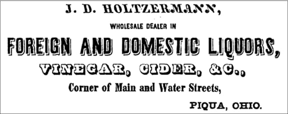 HoltzermannAd1854Ohio