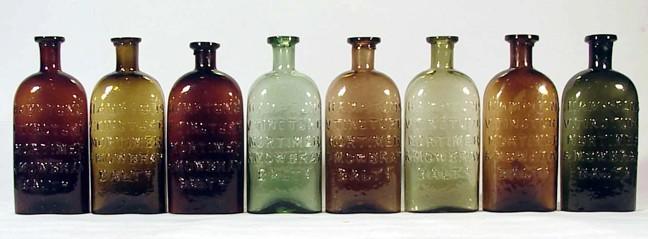 Pontiled color run of HAMPTON'S V. TINCTURE MORTIMER & MOWBRAY BALTO - Phil Edmunds collection