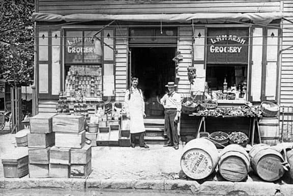 Grocery Stores From Yesteryear Peachridge Glass