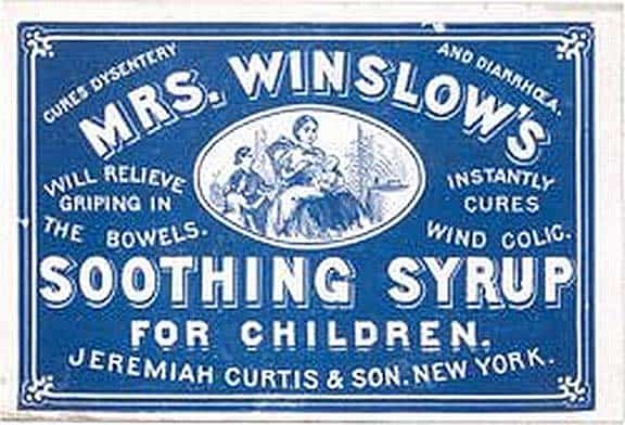 Mrs Winslow S Soothing Syrup Oooh So Soothing