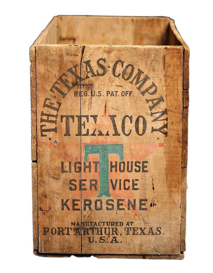 TexacoKeroseneCrate