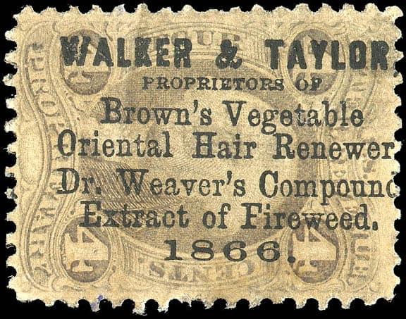 Walker&TaylorBrown'sStamp