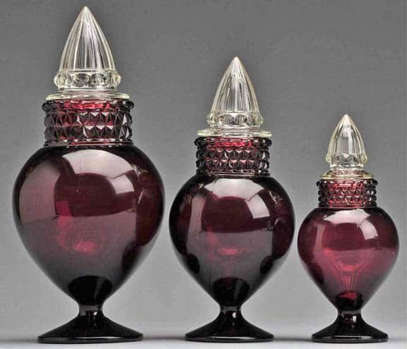The Color Purple Or Amethyst In Antique Glass Peachridge