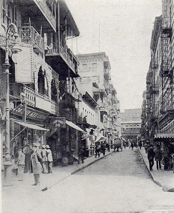 Chinatown N Y - Pell Street