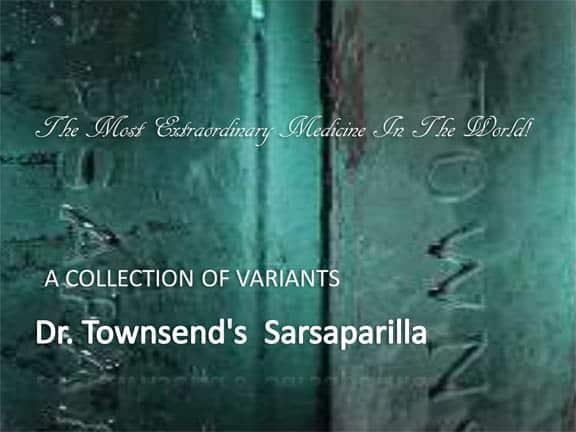 Dr. Townsend's  sarsaparilla