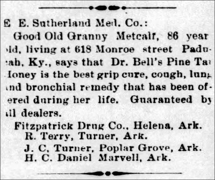 17ece6353ed7a5 Fitzpatrick Drug Co. Kelena, Ark – The Helena Weekly World, Wednesday June  10, 1896