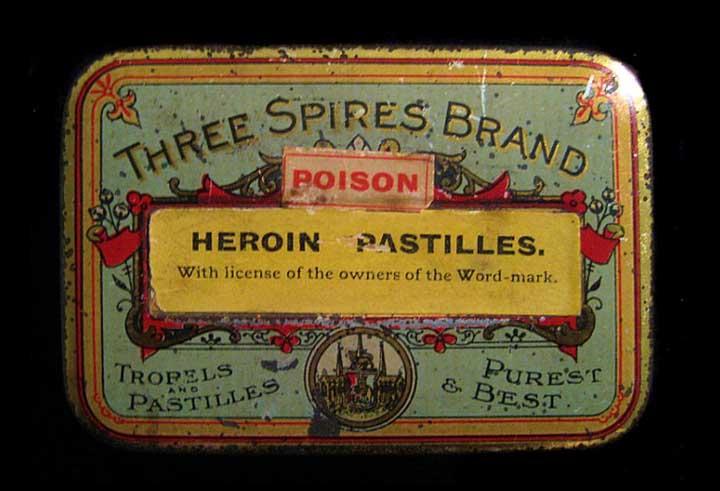 Heroin-Pastilles